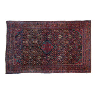 "Vintage Persian Sarouk Rug - 4'3"" x 6'10"" For Sale"