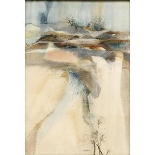 "Patricia Davis Ganek ""Summer Waterfall"" Painting For Sale"
