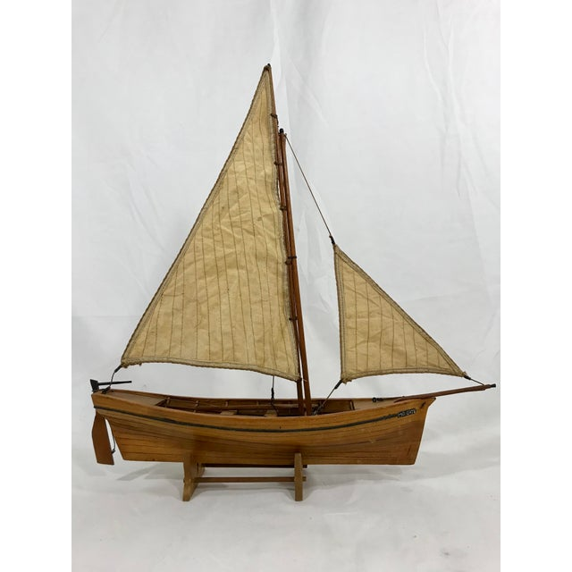 Spanish Fishing Barque Model For Sale - Image 4 of 7