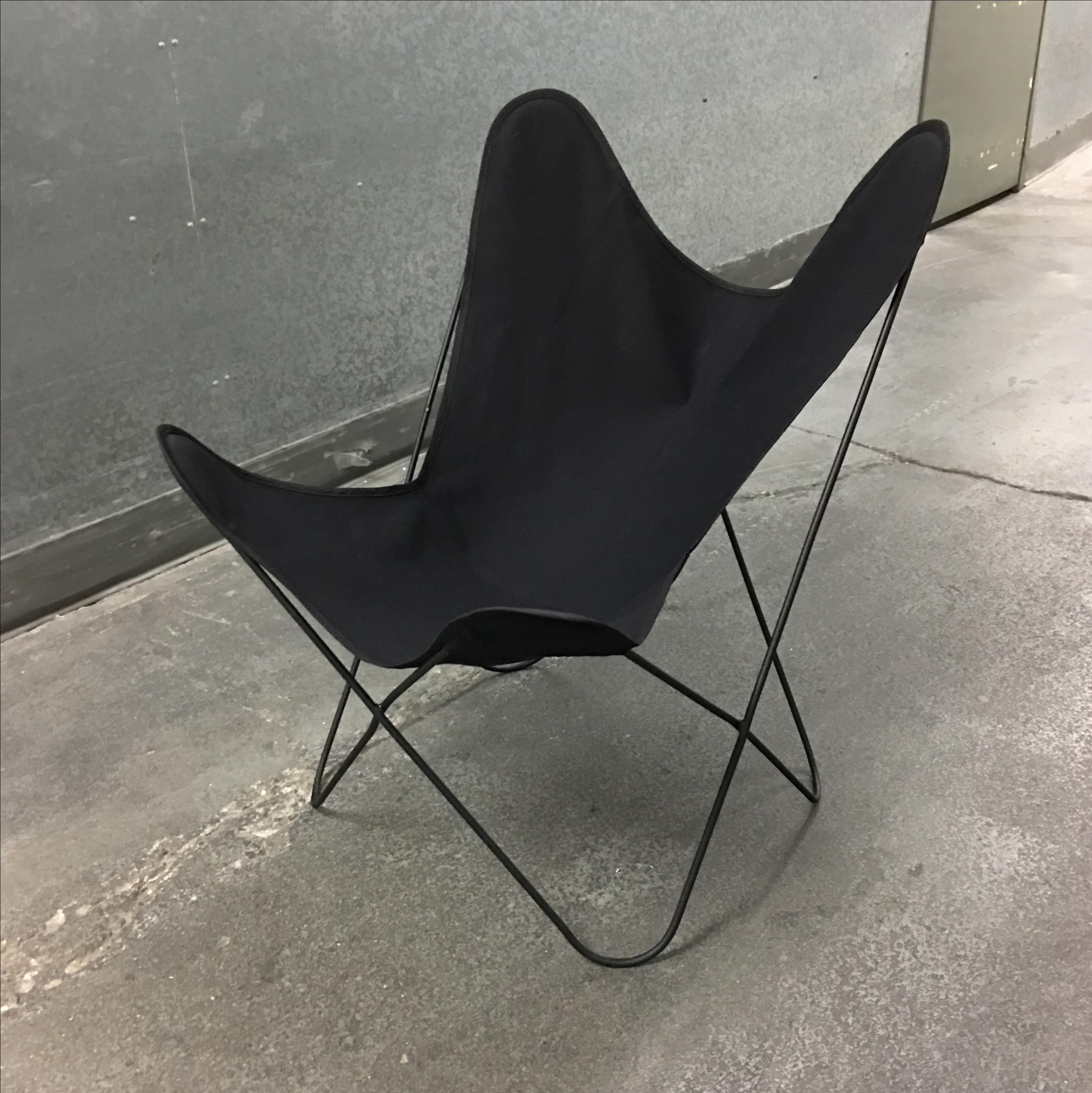Jorge Ferrari Hardoy Mid Century Butterfly Chair   Image 2 Of 7