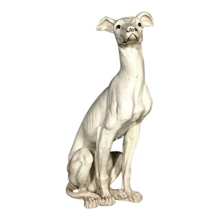 Composite Figure of a Greyhound, Hollywood Regency Style