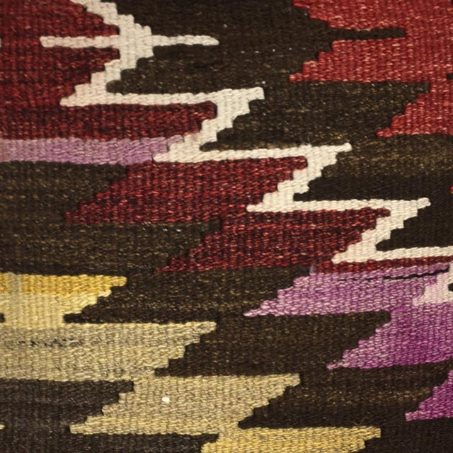 Talk about adding a pop of color and individuality to a room! Each of our Kilim Pillows are cut from a vintage and or...