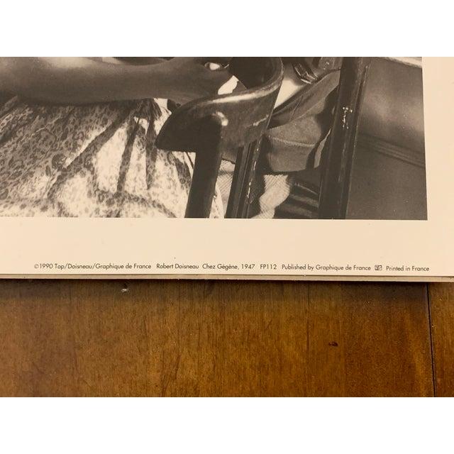 Black 1990s Robert Doisneau Graphique De France Photo Reprint Offset Lithographs - Set of 5 For Sale - Image 8 of 13