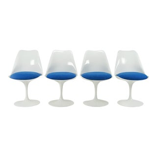 Eero Saarinen for Knoll International Tulip Chairs - Set of 4