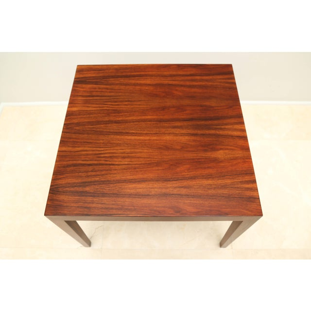 Gorgeous Rosewood Side Table, Denmark, 1960s For Sale - Image 4 of 6