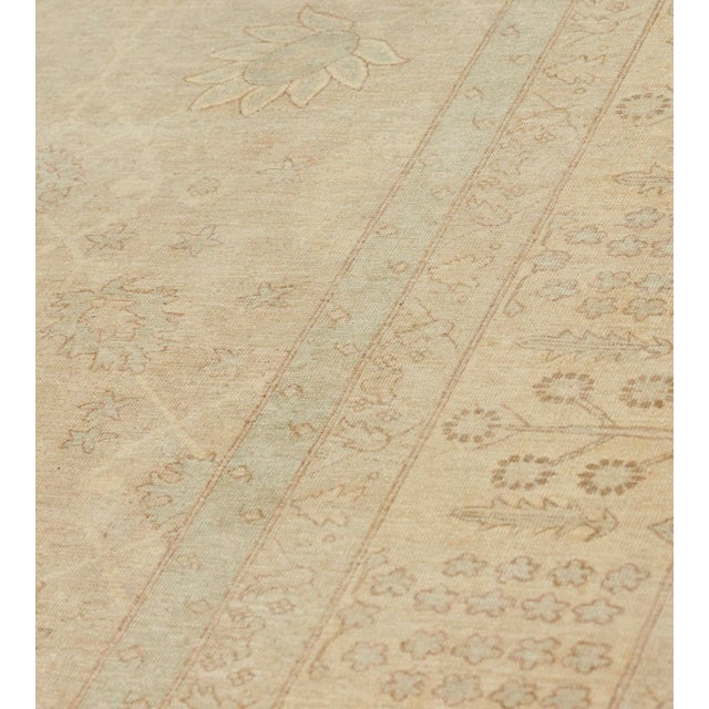 Persian Handwoven Tabriz Style Wool Revival Rug For Sale - Image 3 of 8