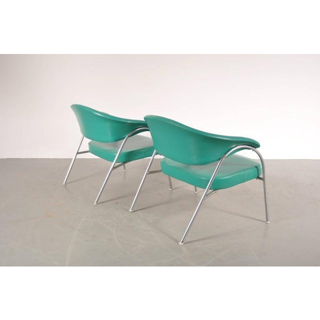 Pair of Rare Easy Chairs Produced by Arflex, Italy, circa 1960 - Image 6 of 7