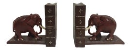 Image of Leather Bookends