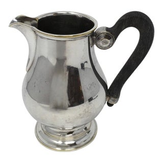 Antique English Silver Creamer For Sale