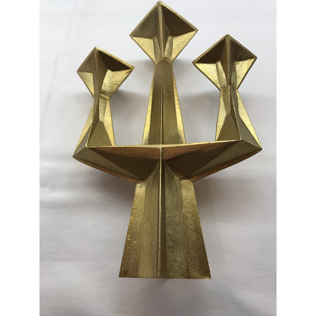 2010s Contemporary Tom Dixon 3 Light Candlestick For Sale - Image 5 of 6