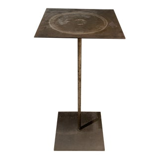 Industrial Ingo Maurer's Atelier Side Table For Sale
