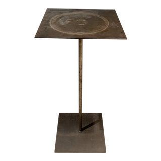 Industrial Ingo Maurer's Atelier Side Table For Sale