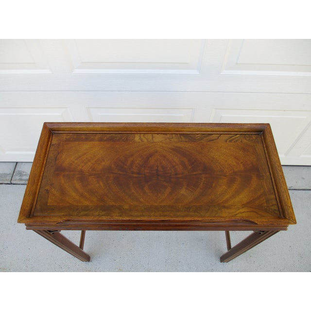 Chippendale Style Console Table For Sale - Image 9 of 11