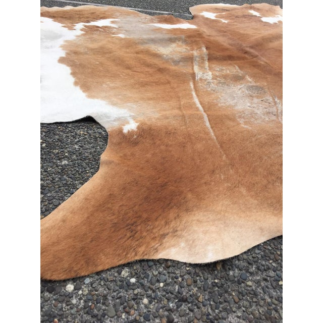 Authentic Country Style Cowhide Rug - 6' X 7' - Image 4 of 7