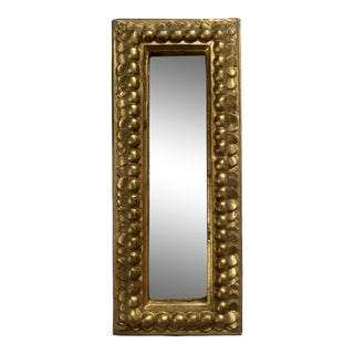 Vintage Florentine Rectangular Wall Mirror For Sale