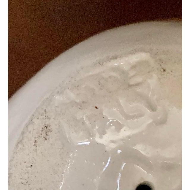 Ceramic Italian Vintage Blanc De Chine White Ceramic Fruits - Set of 3 For Sale - Image 7 of 10