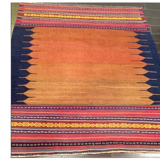 Vintage Persian Flat-Woven Ombré Kilim Rug From 2nd Quarter of 20th Century Preview