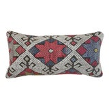 Image of 1960s Vintage North Star Kilim Lumbar Pillow For Sale