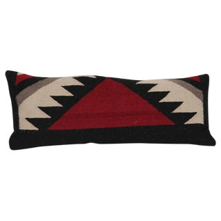 Pair of Navajo Indian Weaving Kidney Pillows For Sale