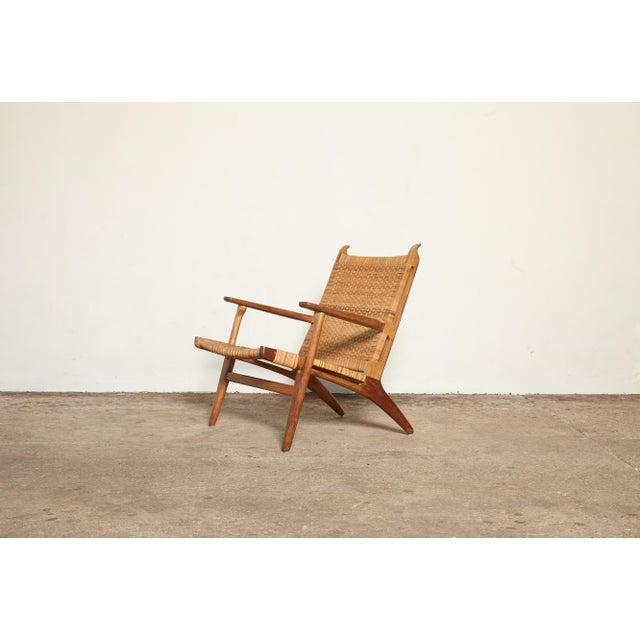 1950s Hans Wegner Ch-27 Chair, Carl Hansen & Son, Denmark, 1950s For Sale - Image 5 of 11