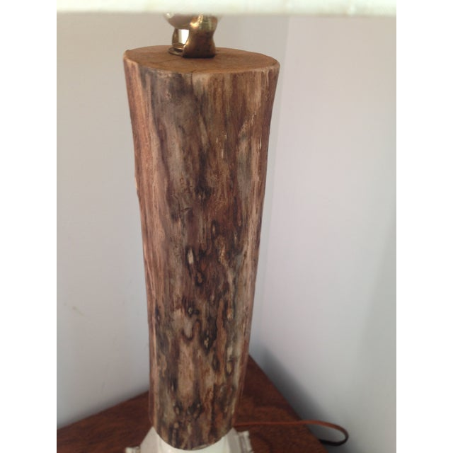 Vintage Rustic Farmhouse Table Lamp - Image 4 of 10