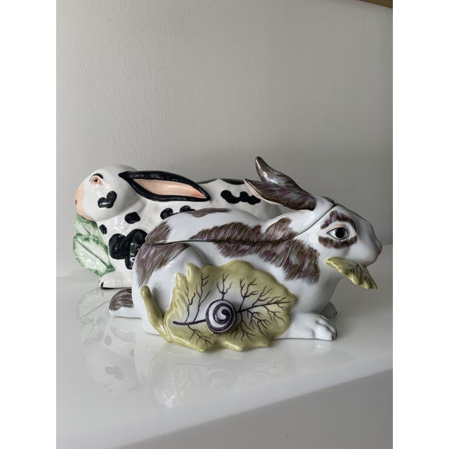 Mid 20th Century Chelsea House Porcelain Rabbit For Sale - Image 10 of 10