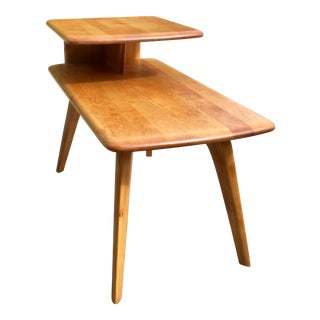 Heywood Wakefield Mid-Century Modern 2-Tier Side Table