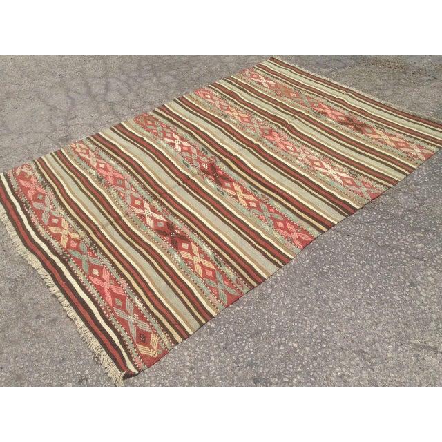 Traditional Anatolian Rug - 4′10″ × 7′ For Sale - Image 5 of 6
