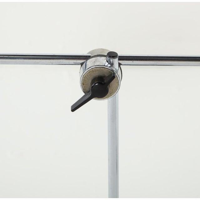 Chrome Midcentury Adjustable Desk Lamp For Sale - Image 11 of 13