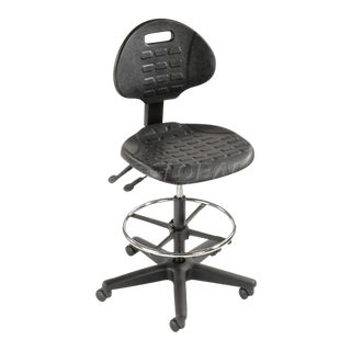 Black Adjustable Office Chairs - Set of 90 For Sale