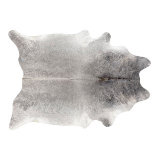 Silver Genuine Brazilian Cowhide
