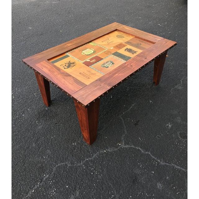 Cigar Box Coffee Table - Image 2 of 11