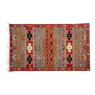 Berber Rug - Large Handwoven Wool For Sale