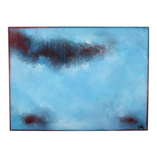 Temptation. Framed Oil on Canvas 2019 by C. Damien Fox For Sale
