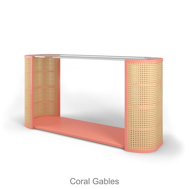 Lola Console Table - Coral Gables For Sale In Los Angeles - Image 6 of 6