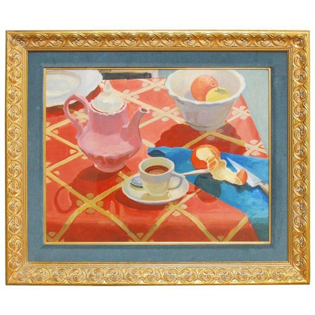 Breakfast Still Life Watercolor Painting by Lisa Esherick For Sale - Image 11 of 11