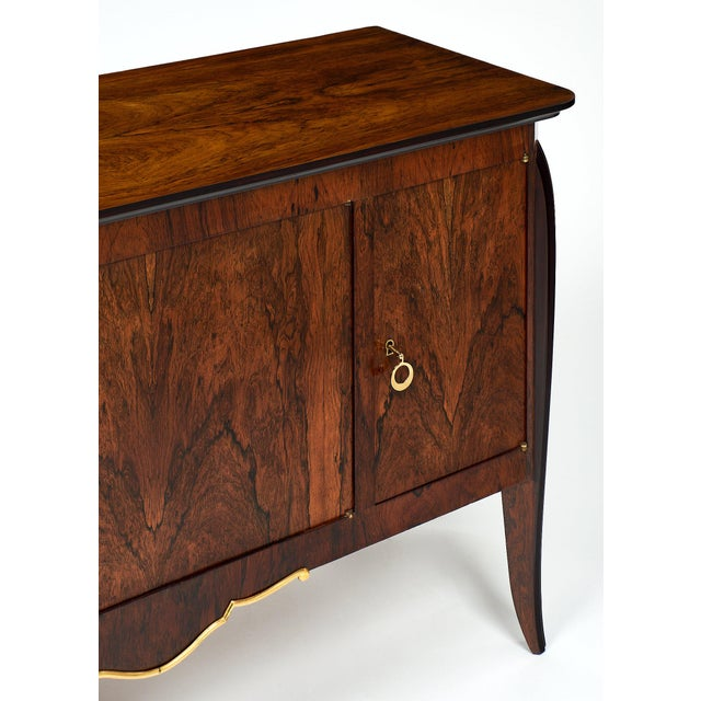 French Art Deco Period Rosewood Buffet For Sale In Austin - Image 6 of 10
