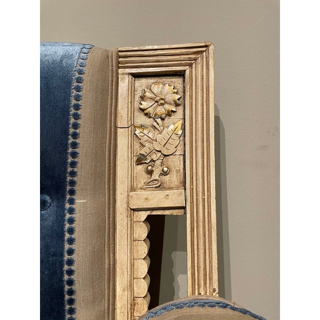 Wood 19th Century Vintage Victorian Settee For Sale - Image 7 of 8