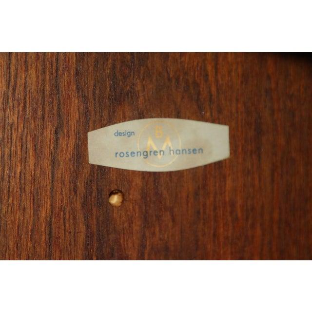 Henry Rosengren Hansen Mid Century Danish Modern Rosewood Sideboard by Henry Rosengren Hansen for Brande Mobelindustri For Sale - Image 4 of 11