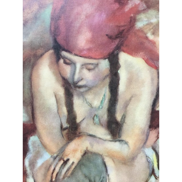 1954 Portfolio of 25 Color Stone Lithograph Prints by Jules Pascin For Sale - Image 13 of 13