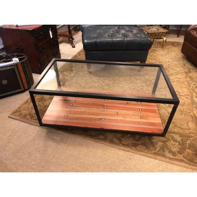 Groovy Vintage Custom Industrial Coffee Table Creativecarmelina Interior Chair Design Creativecarmelinacom
