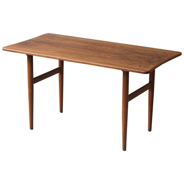 1960s Vintage Rosewood Coffee Table by Kurt Østervig for Jason Møbler For Sale - Image 11 of 11