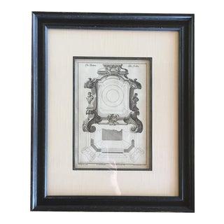 Framed Decorative Print For Sale