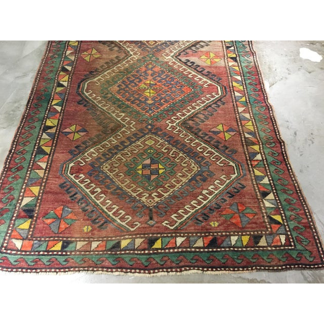 "Vintage Bellwether Rugs Turkish Oushak Rug - 5' x 9'3"" - Image 3 of 10"