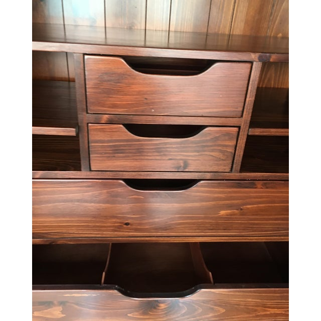 Ethan Allen Mahogany Armoire - Image 9 of 11
