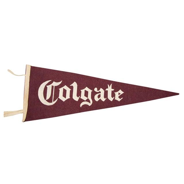 Vintage Colgate University Felt Flag - Image 1 of 3