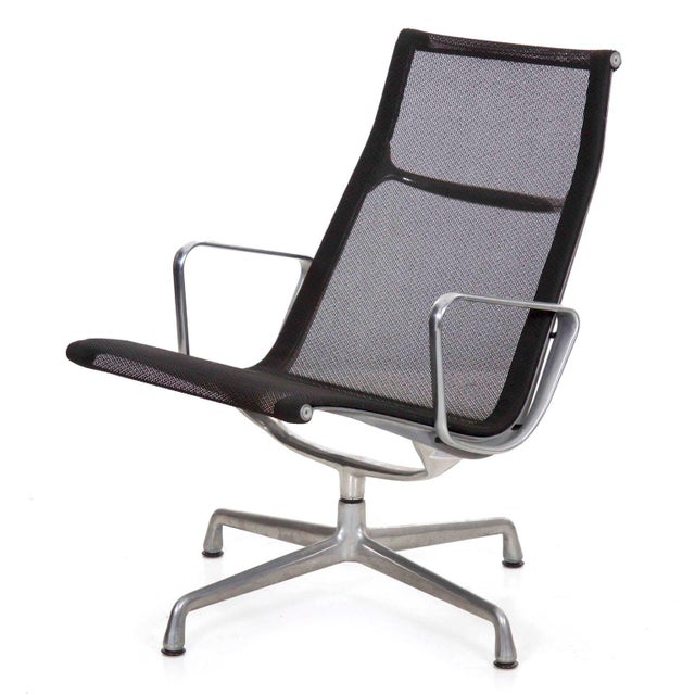 Charles and Ray Eames for Herman Miller Aluminum Group Lounge Chair For Sale - Image 13 of 13