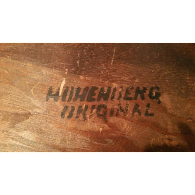 "Richard Hohenberg ""Guitar Pick"" Tile Coffee Table - Image 7 of 7"