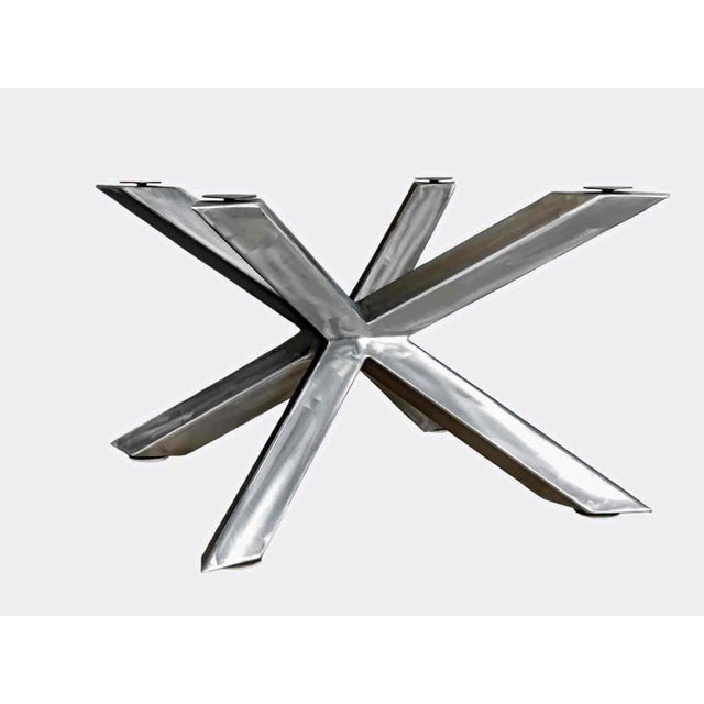 Invictus Steelworks Modern Cross Table Base For Sale In Salt Lake City - Image 6 of 6