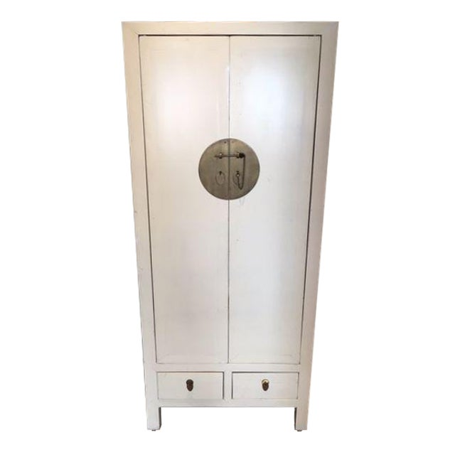 Antique Ivory Cabinet - Image 1 of 5